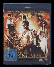 BLU-RAY THE KING MAKER - JOHN RHYS-DAVIES (Abenteuerfilm) *** NEU ***