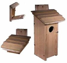 Ark Workshop Large Woodpecker House and also Flicker House. see pics - It Works
