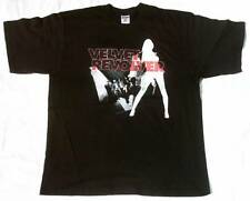 Rara vez Official Velvet Revolver Tour 2005 Slash Scott Weiland star T-Shirt G.L