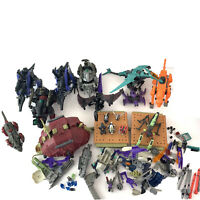 Huge Lot Of TOMY Zoids 10 Units With Parts, Pilots And Minis Zoids