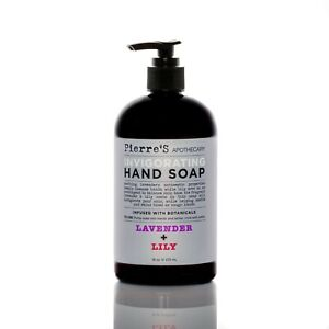 PIERRE'S APOTHECARY Invigorating Hand Soap Lavender & Lily 719 ml