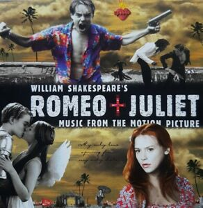 *WILLIAM SHAKESPEARE'S ROMEO+JULIET-MUSIC FROM THE MOTION PICTURE* 1996 CD Album