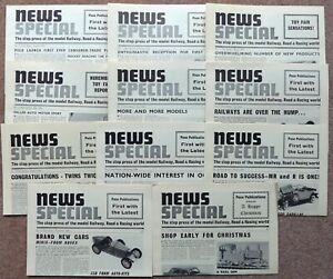 11 PECO NEWS SPECIAL Leaflets - 1964