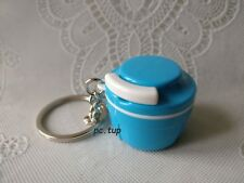 Turbo Tup / Turbo Chef bleu clair - Porte clés Tupperware (keychain) Miniature