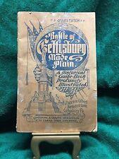 Battle of Gettysburg Made Plain - 1902 by Prof. J. Warren Gilbert