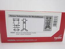 Herpa 082853  Kipprahmen für 3-achs Kipper Inhalt: 5 Stück 1:87 H0 NEU in OVP
