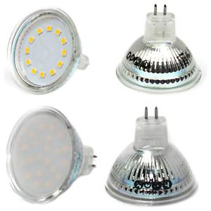 2W 3W 3,5W 4W 5W 6W LED MR16 Spot Strahler COB SMD Lampe Licht kaltweiß warmweiß