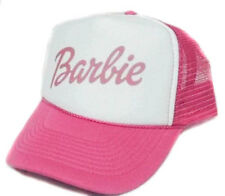 Barbie Trucker Hat  mesh hat snapback hat hot pink
