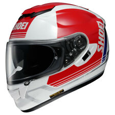 Shoei GT - Air Decade Street Motorcycle Helmet Red / White Size Medium MD