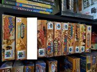 9 N64 Game Lot! Castlevania Legacy of Darkness, Mario Kart, ETC Nintendo 64 CIB