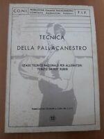 AA.VV 1972 CONI Tecnica Della Pallacanestro Stage Tecnico Nazionale Per...