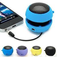5V Mini Portable Hamburger Speaker Travel Speaker for Tablet Laptop MP3 Phone