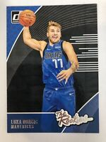 Luka Doncic 2018-19 Panini NBA Donruss The Rookies RC Base Insert Card No. 3