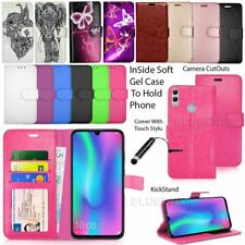 For Honor 10 Lite Case Phone Wallet Cover Leather Book Flip + Screen Protector