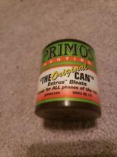 Primos Doe Bleat Estrus The Original Can Deer Buck