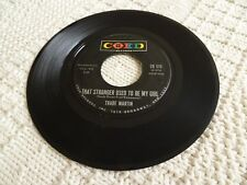 TRADE MARTIN THAT STRANGER USED TO BE MY GIRL/WE'LL BE DANCING ON THE MOON COED