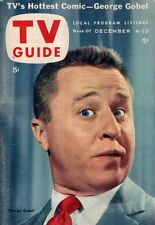 1954 TV Guide December 4 -Mickey Mouse and Disneyland; Howdy Doody; George Gobel