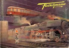 catalogo FLEISCHMANN 1953 HO Elektrische und Uhrwerk Modelleisenbahn     D    aa