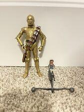 "The Black Series 6"" Action Figure C-3PO and Babu Frik"