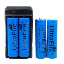 4 x Ultrafire 3000mAh 18650 Battery 3.7v Li-ion Rechargeable Battery +US Charger