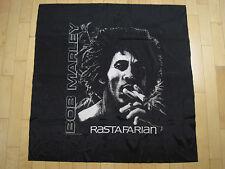 NOS!! 80s vtg BOB MARLEY rasta BANNER flag ROCK tapestry WALL ART music REGGAE