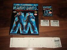 Super Mario Bros 1993 Diamond empty sticker Album, near-Complete Sticker Set &..