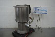 More details for dornow veg salad dryer spinner centrifuge 415v stainless steel basket  free p+p