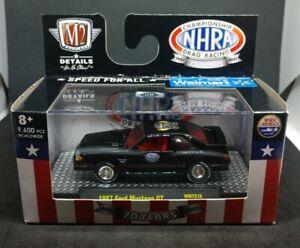 *BRAND NEW* M2 Machines WALMART NHRA 70 Years - 1987 Ford Mustang GT