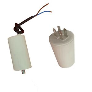 Electric Motor Run Capacitor 2uf to 100uf mfd 400/450v with lead New Capacitors