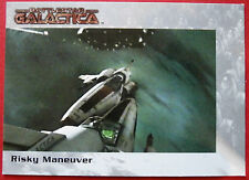 BATTLESTAR GALACTICA - Premiere Edition - Card #62 - Risky Maneuver