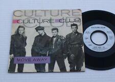 CULTURE CLUB 45 T MOVE AWAY   VIRGIN RECORDS LTD  008457  1986