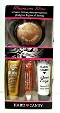 HARD CANDY GLAMAZON GLOW baked bronzer, primer, plexi gloss & glow all the way