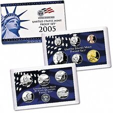 2005 US Mint Proof Set Certificate of Authenticity 11 coin set