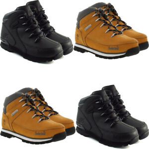 Timberland Toddlers Kids Leather Boots Hiker Casual Boots Shoes Lace Up Trainers