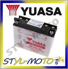 YB16AL-A2 BATTERIA BATTERY ORIGINALE YUASA CON ACIDO DUCATI 750 Monster 1998