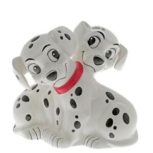 Disney Enchanting 101 Dalmatians Money Bank Ceramic Savings Pot Collectors Gift