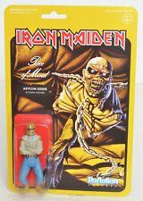 """Iron Maiden PIECE OF MIND Super 7 ReAction 3.75"""" Figure NEW Asylum Eddie"""
