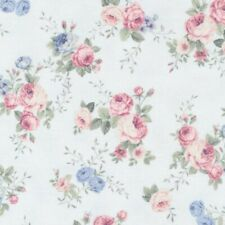 Spring Romance Cotton Quilt Fabric Floral Paintbrush Studios By the Yard
