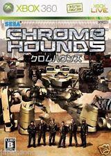 Used Xbox 360 Chrome Hounds  MICROSOFT JAPAN JP JAPANESE JAPONAIS IMPORT