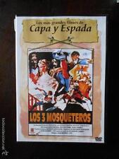 DVD LOS 3 MOSQUETEROS - BERNARD BORDERIE - 1961 - COMO NUEVA (4Ñ)