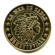 60 ERMENONVILLE La Mer de Sable, Tête d'indien, 2012, Monnaie de Paris