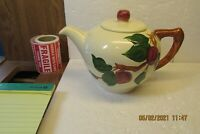 Vintage Franciscan Ware Apple Pattern 4 Cup Teapot  USA