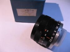 Tamron PFG-19III Television Lens 25mm F/1.9 for Video Camera Japan - USED Qty 1