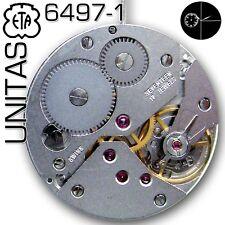 MOVEMENT UNITAS, ETA  6497-1-STANDARD VERSION, SMALL SECOND 9H, NEW IN BOX!