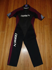 O'BRIEN Synergy Series 3/4 Short Sleeve WETSUIT Women's  Size 10