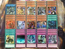 Yugioh Tournament Ready to Play Ninja Deck 43 Card ALL FOIL Grandmaster Saizo NM