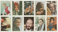 Lot of 10 - 1964 Cumbre Film and Recording Stars Tobacco Cards CHARLES Fonda E2