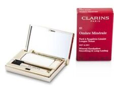 Clarins Ombre Long Lasting Mineral Eyeshadow # 01 White Sparkle