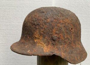 M40 Helmet WW2 WWII Germany Stalhelm