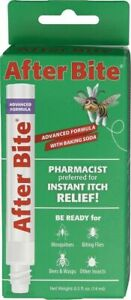 After Bite - Instant Insect/Bug Bite Itch & PAIN Relief Eraser Pen 0.5 oz